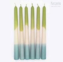 DipDye Candle grün blau